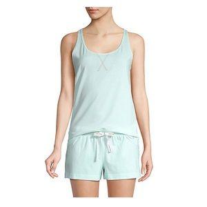 Calvin Klein Sleeveless Tee & Shorts Pajama Set